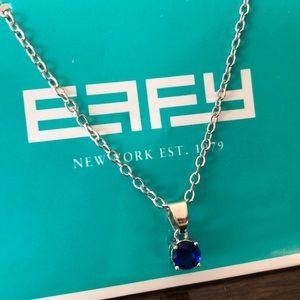 EFFY blue sapphire necklace